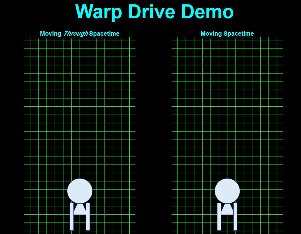how to make a warp drive