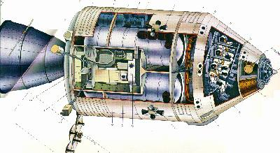 moon landing modules cutaway - photo #8