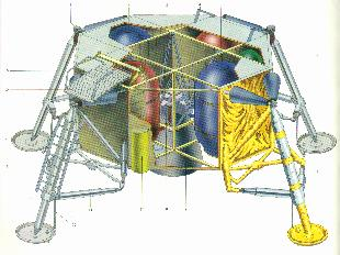 moon landing modules cutaway-#7