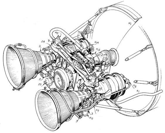 Saturn V Diagram - Lunar Module -  U00a9 Cetin Bal